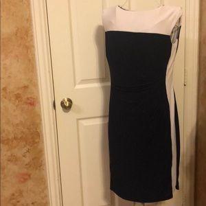 Women's Lauren form-fitting lined dress